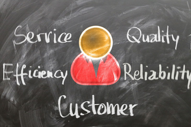 service quality efficiency reliability customer