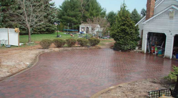 Clean Driveways and Walkways Without a Hose