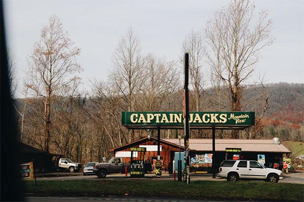 Captain Jacks diner