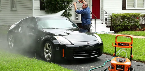 Use the Hose Less When You Wash Your Car