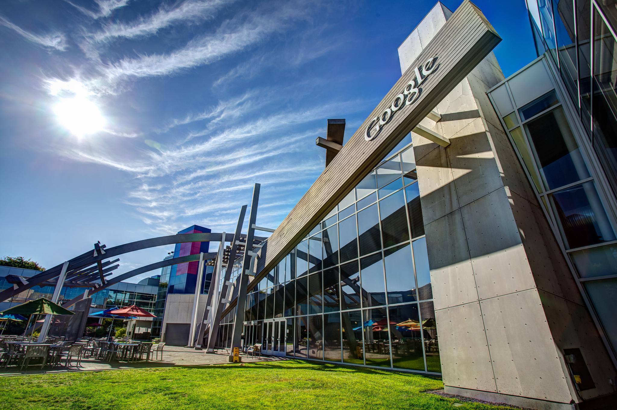 googleplex  Google corporate headquarters