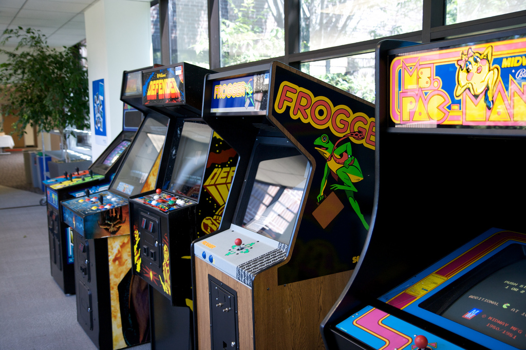Video arcade at Googleplex