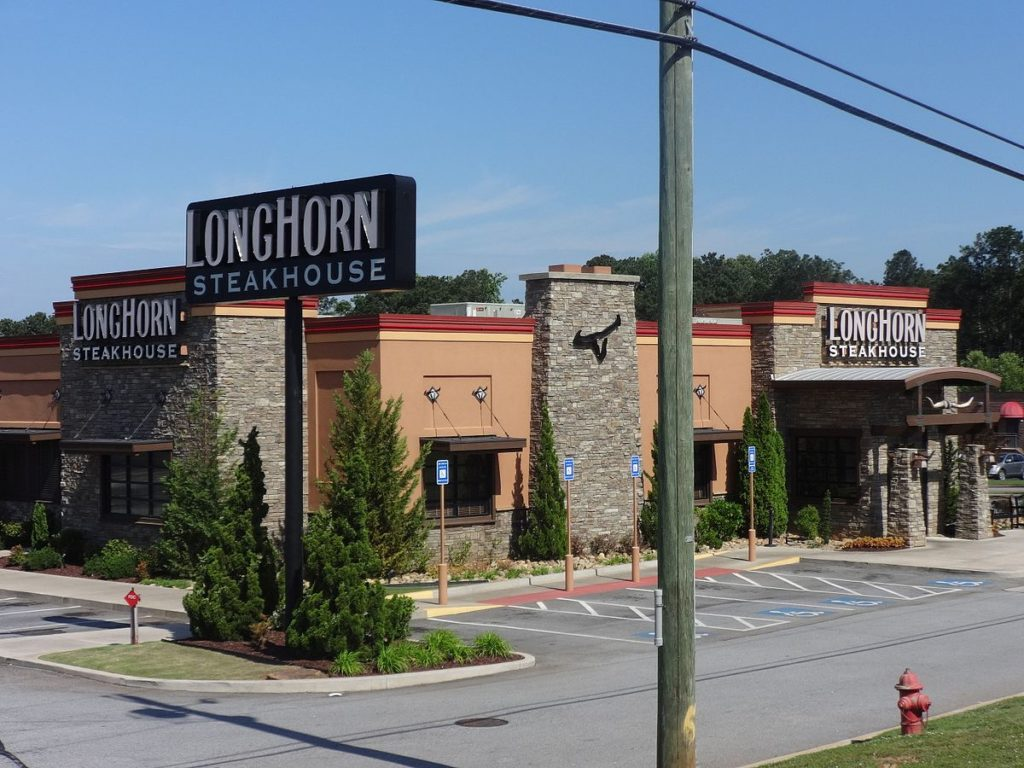 Longhorn Steakhouse branch in Georgia